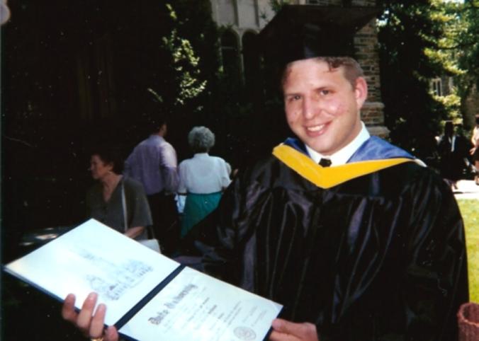 Dave graduates from Duke